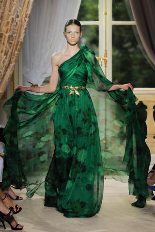 robe de soirée de mousseline de soie 2013