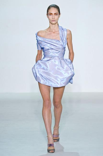 Model de robe de soiree courte 2012