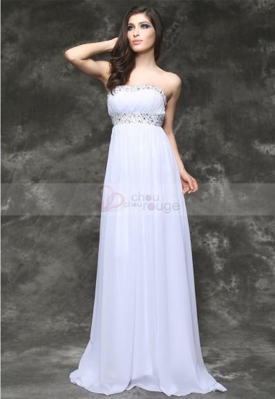c58e106094c La robe de soirée longue merveilleuse blancheur étoilée