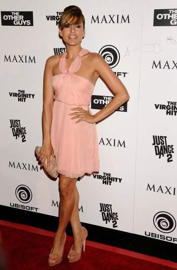 Eva Mendes, une jolie robe de soirée courte pour le lancement de l'un de ses films