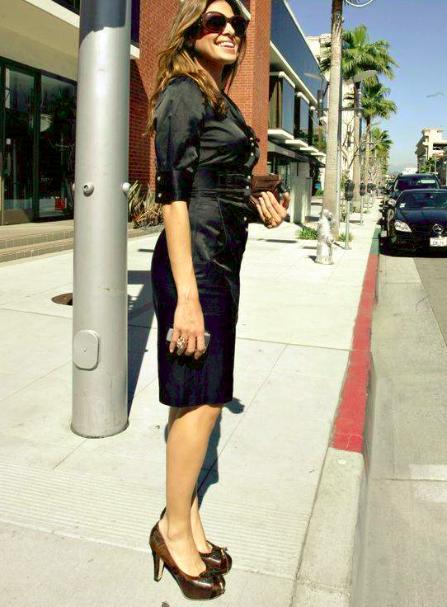 Eva Mendes, une star de cinéma, des robes de soirée  glamour et tendances