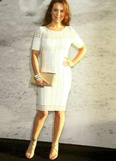 Alyssa Milano en robes de soirée