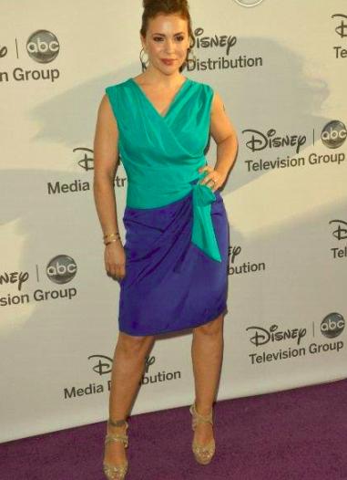Quand la star choisit une robe de soirée de couleur flashy au SAG Awards 2013