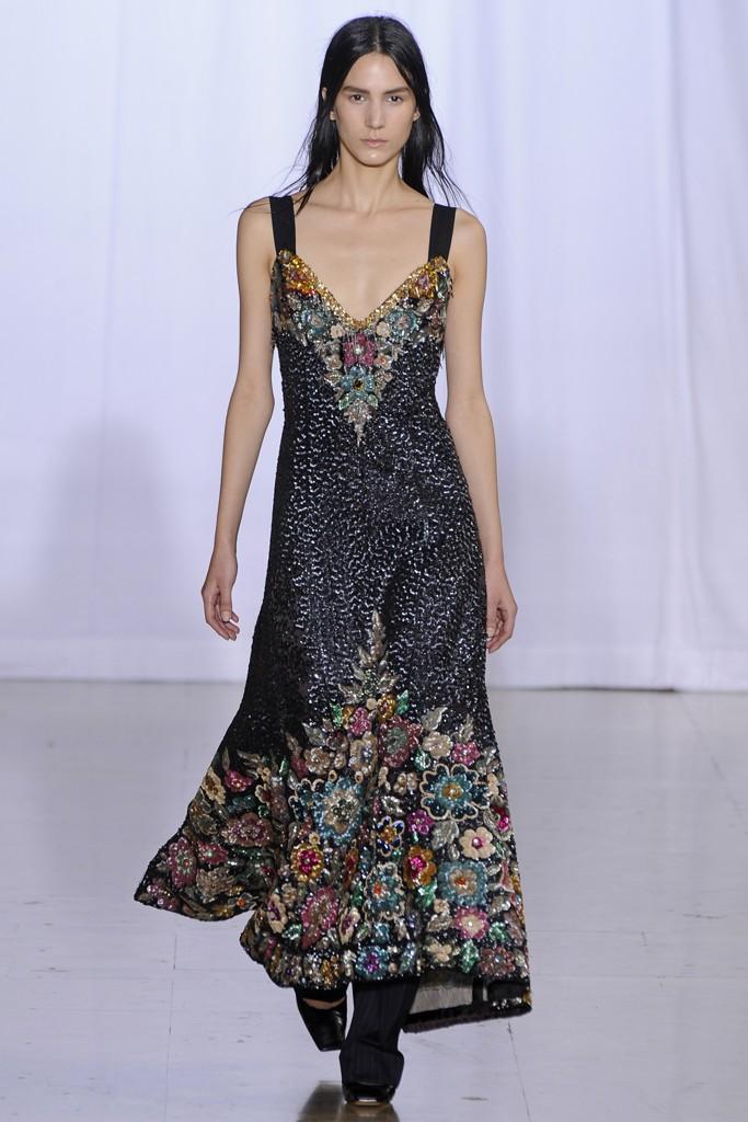 tenues et robes de soir e le d fil d isabel marant au fashion week de paris des robes et des. Black Bedroom Furniture Sets. Home Design Ideas